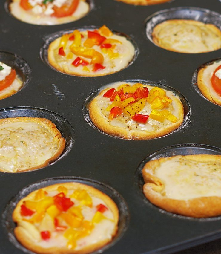 Baked Chicken Cups