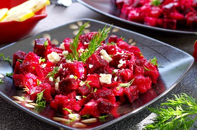 VINAIGRETTE BEET POTATO SALAD