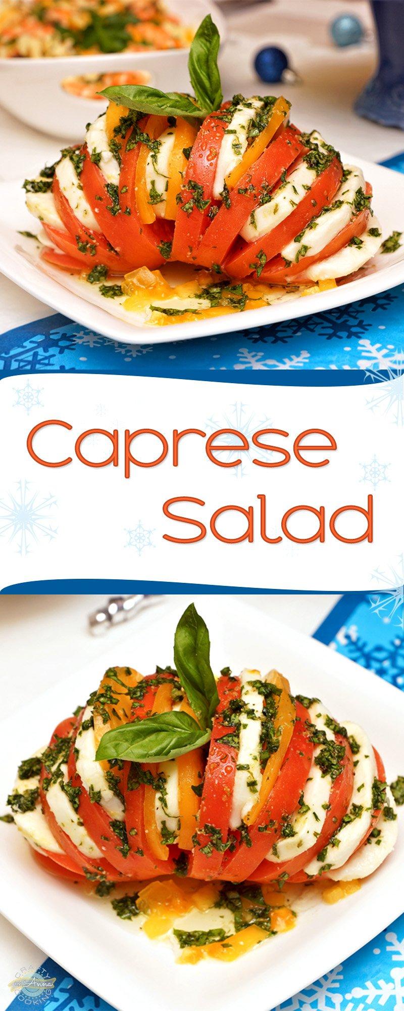 Fancy Caprese Salad