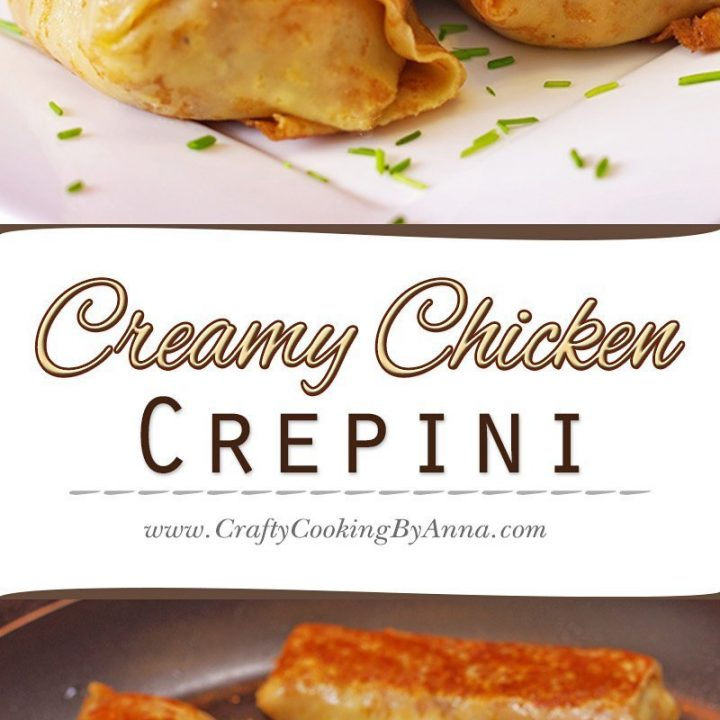 Creamy Chicken Crepini!