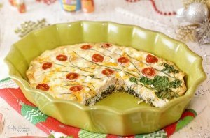 Chicken and Spinach Frittata