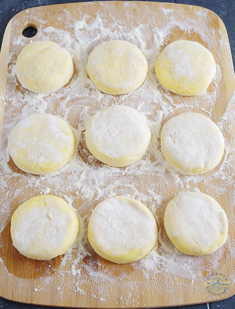 Russian Cheese Pancakes (Syrniki), Творожные Сырники.