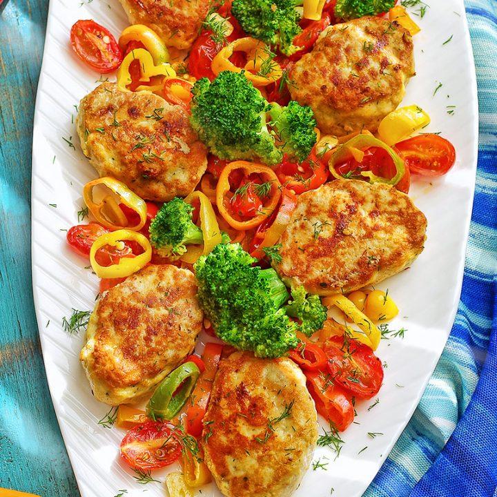 Moist and Delicious Russian Chicken Kotletki (Куриные котлеты, котлетки)!