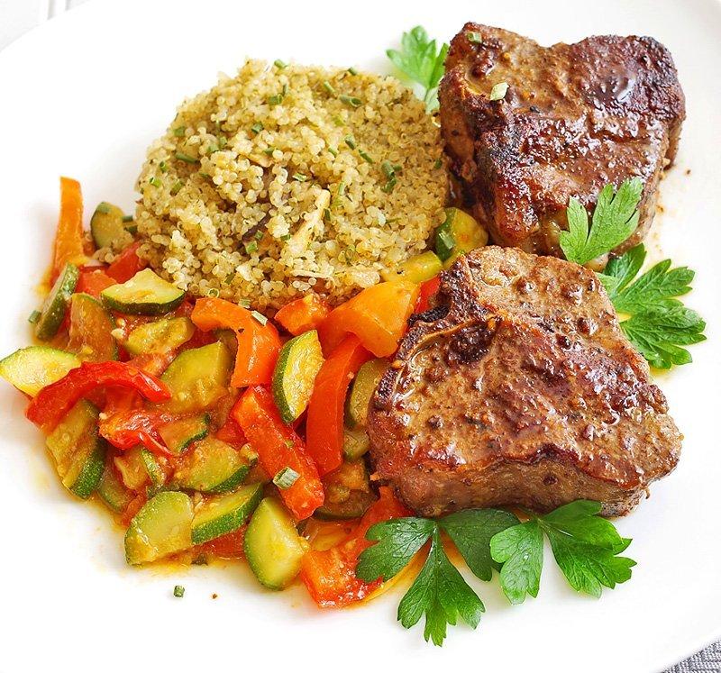 lamb-loin-quinoa-served