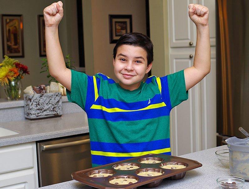 banana cakes ready to bake