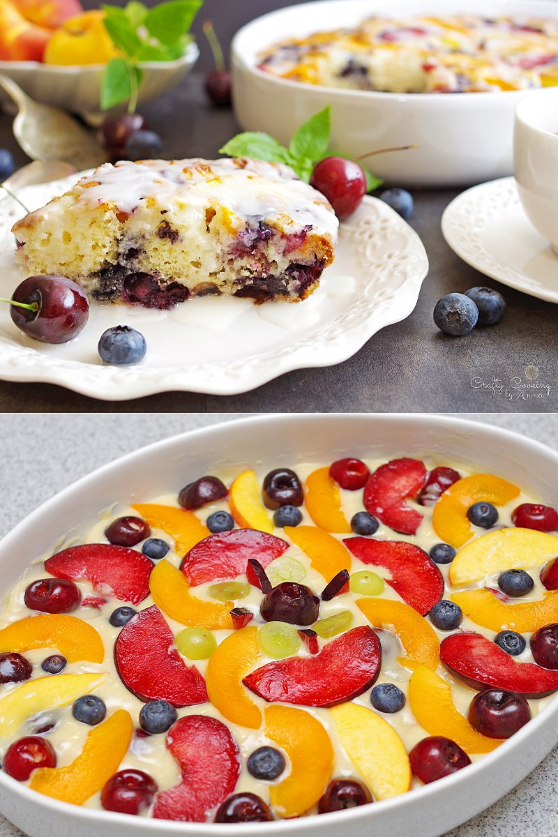 Fruit Coffee Cake‏