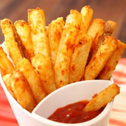 Parmesan Baked fries