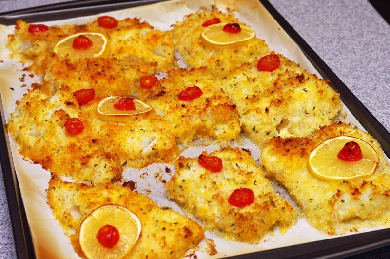 Parmesan Baked Wild Alaskan Cod