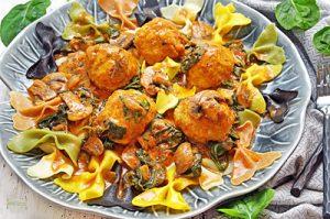 Tomato Chicken Meatballs