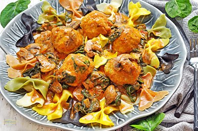 Tomato Chicken Meatballs