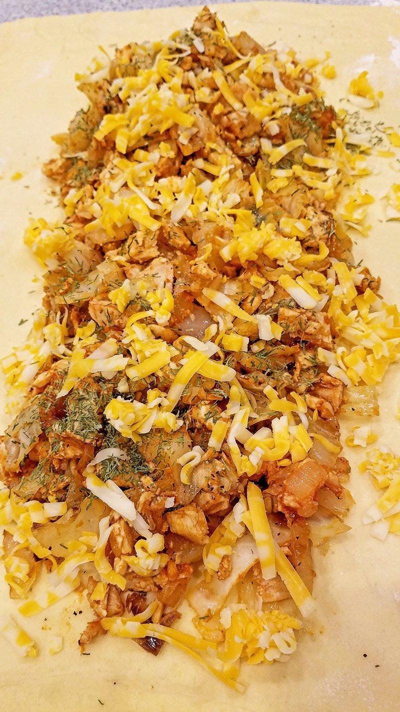 Chicken Cabbage Pie