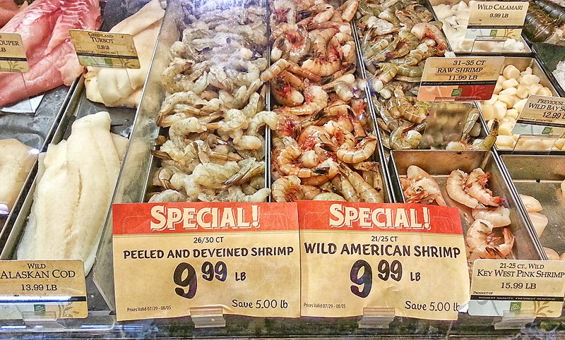 Fresh Market Wild shrimp