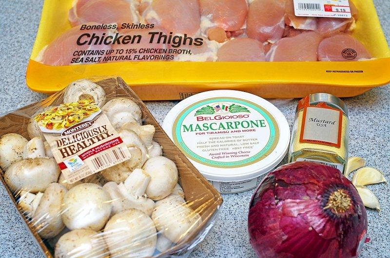 Creamy Mascarpone Chicken