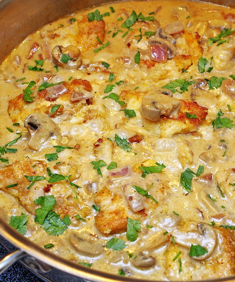 Creamy Mascarpone Chicken