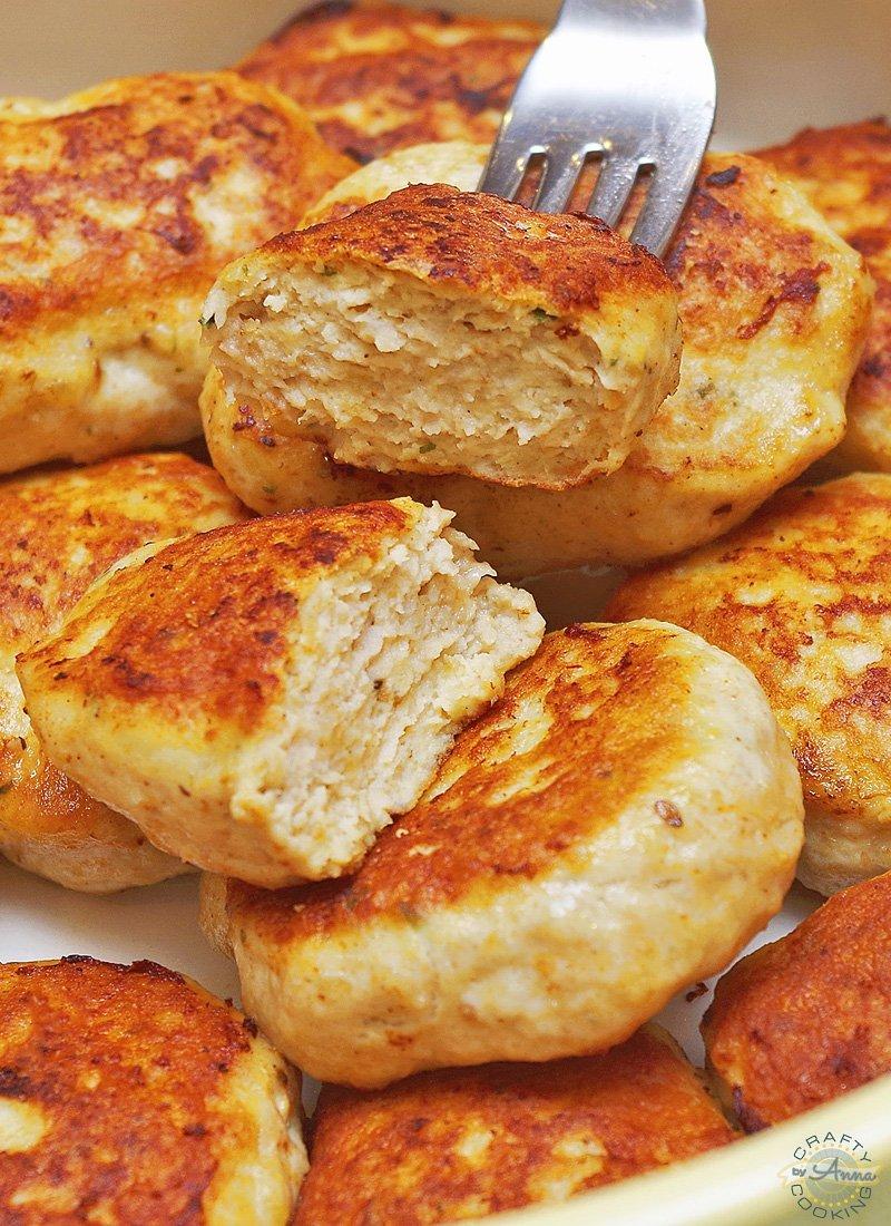 Chicken Patties (Kotletki)