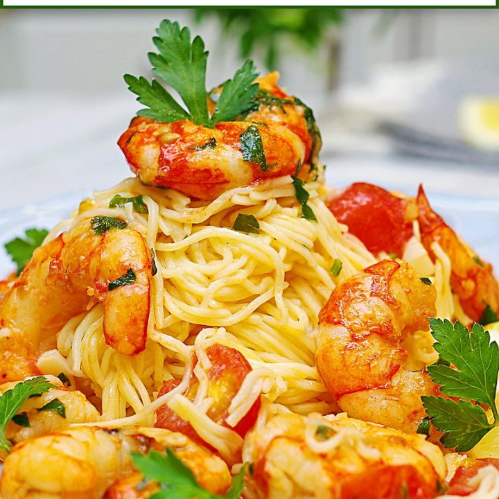 Shrimp Scampi Pasta Pin