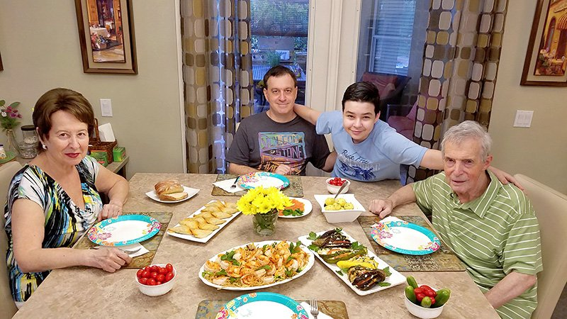 Father's Day dinner 2017