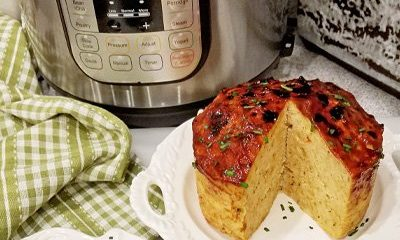 Instant Pot Chicken Meatloaf and Mashed Potatoes