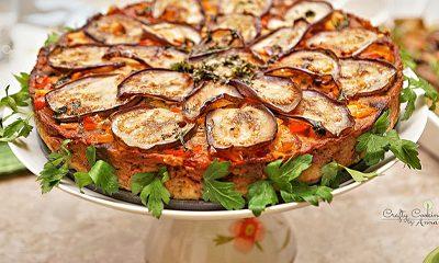 Eggplant Potato Cake