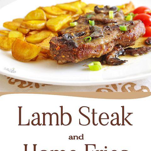 Lamb Steak dinner