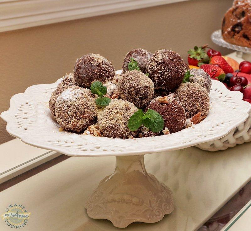 Thanksgiving 2017 dinner truffles