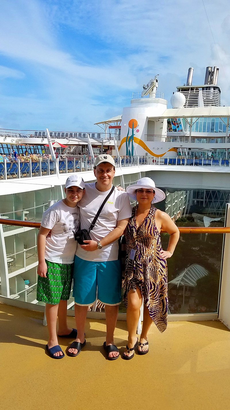Allure of the Seas family vacation