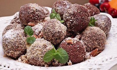 Chocolate truffles thumb