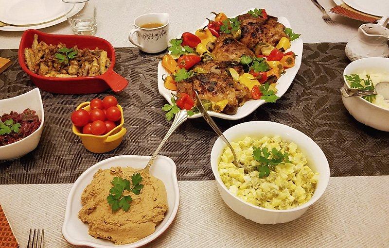 Thanksgiving 2017 dinner