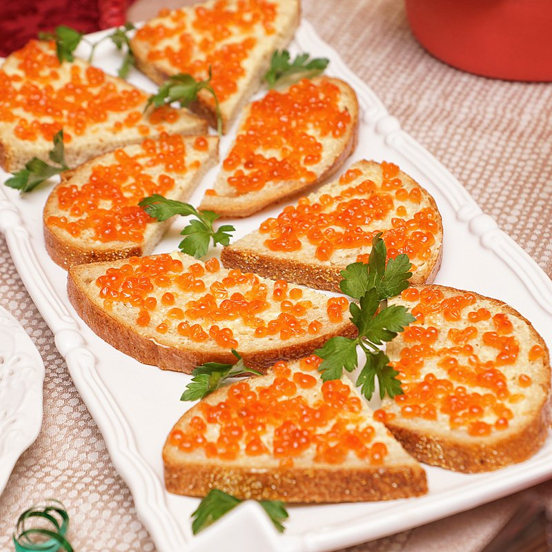 bread caviar