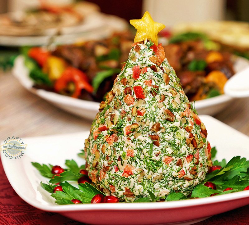 Christmas Dinner 2015 chicken salad