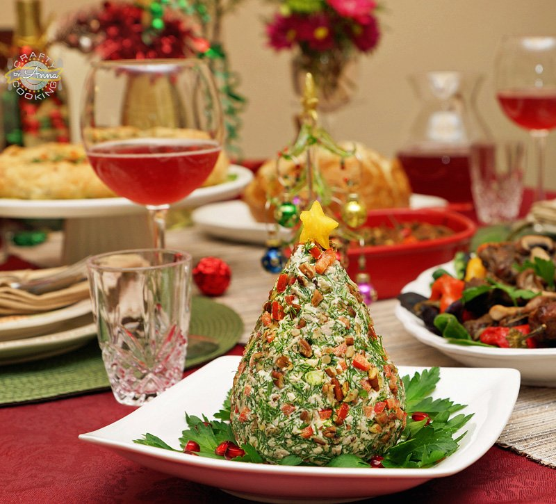 Chicken Salad Christmas Tree