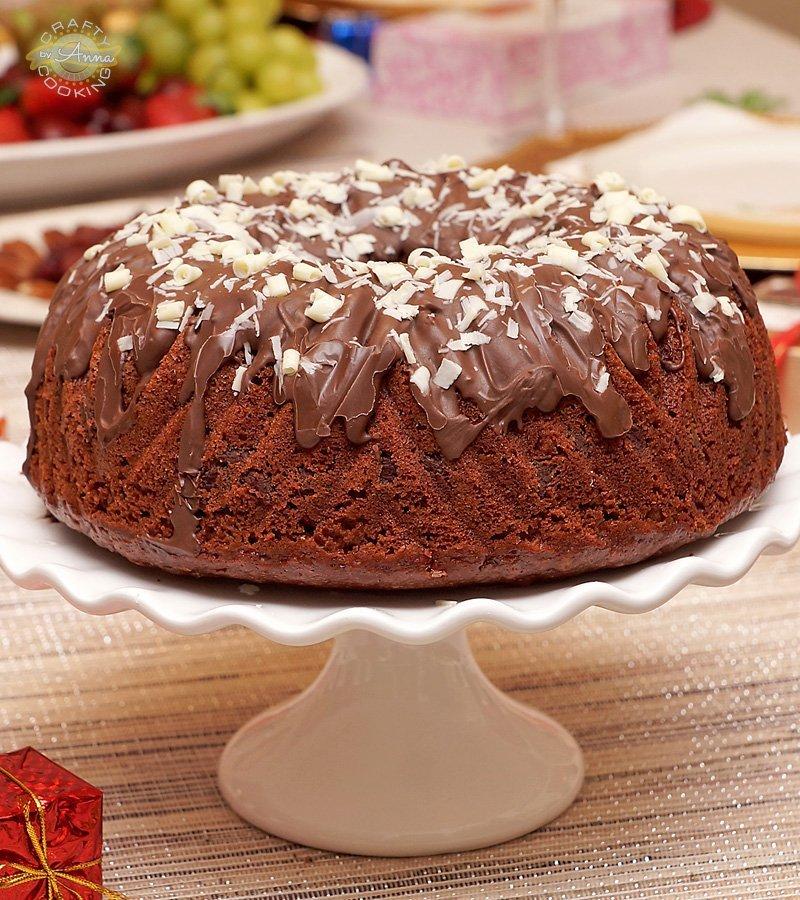 Christmas 2017 chocolate cake