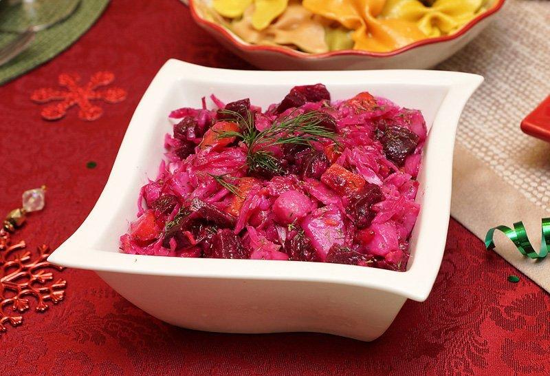 Christmas Dinner 2016 Vinegret Salad