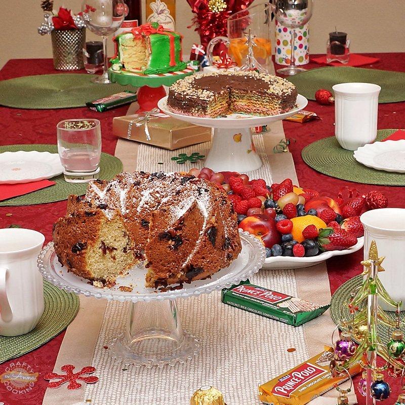 Christmas Dinner 2016 desserts