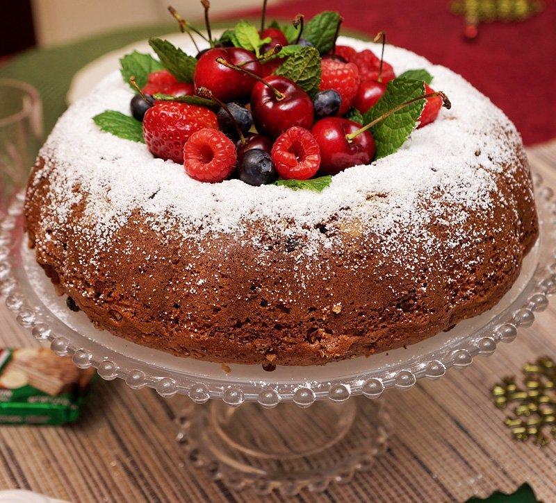 Christmas Dinner 2015 cake