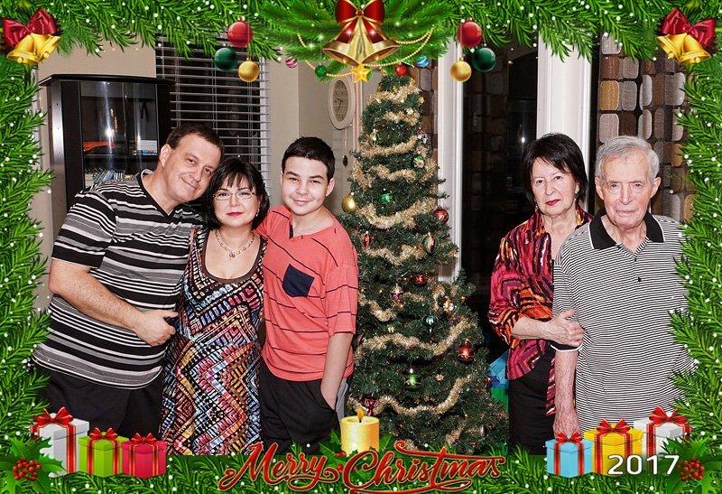 Christmas 2017 family