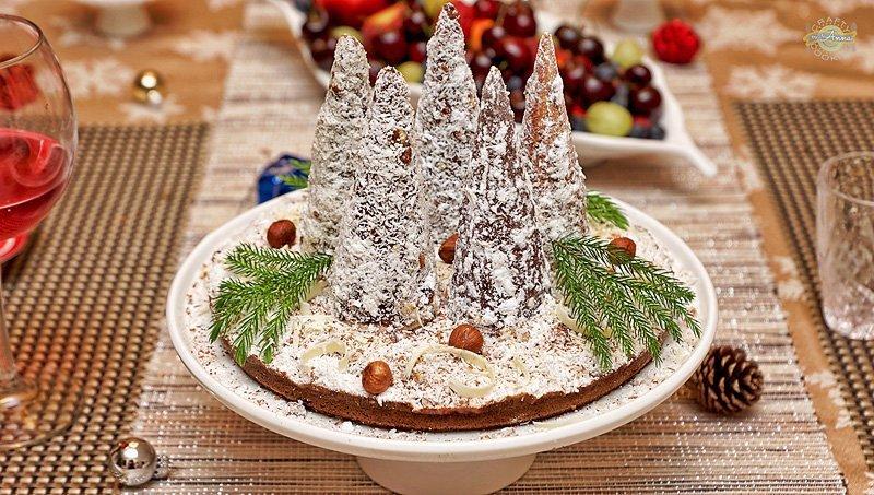 Ice cream cone Chocolate/Coconut Trees