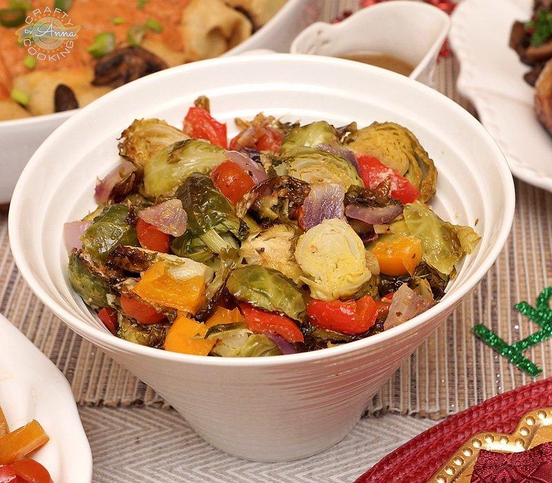 Christmas 2017 roasted veggies