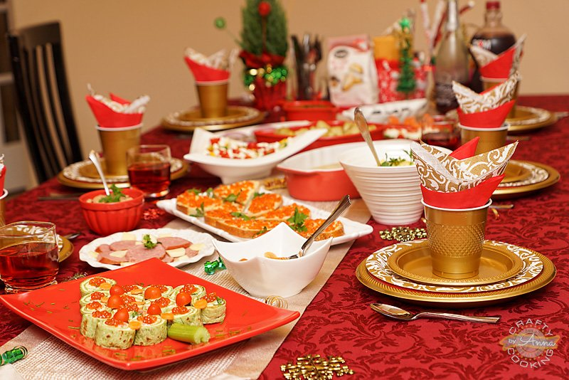 Christmas Dinner 2014 decor & Christmas Dinner 2014! Delicious ideas for the upcoming Holiday.