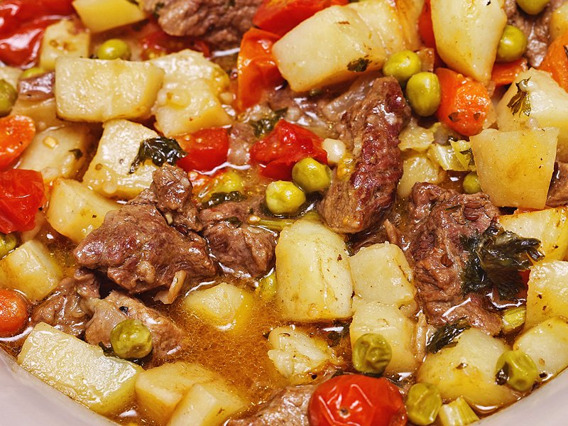Beef Stew baked