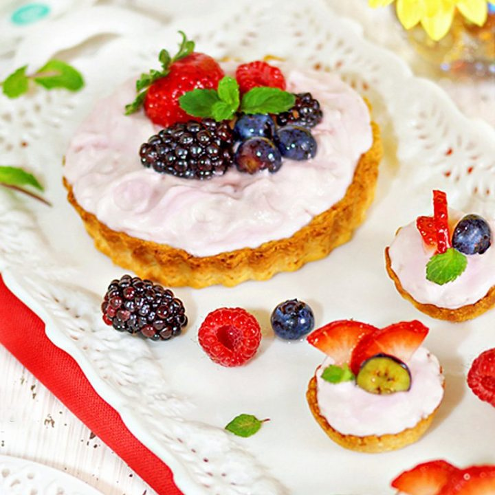 Creamy Fruit Tartlets