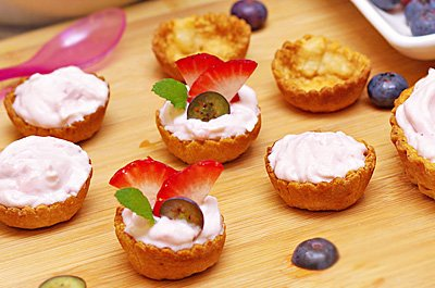 Creamy Fruit Tartlets
