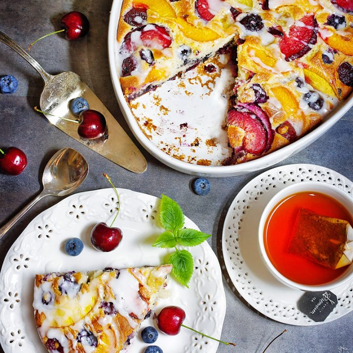 The BEST Fruit Coffee Cake