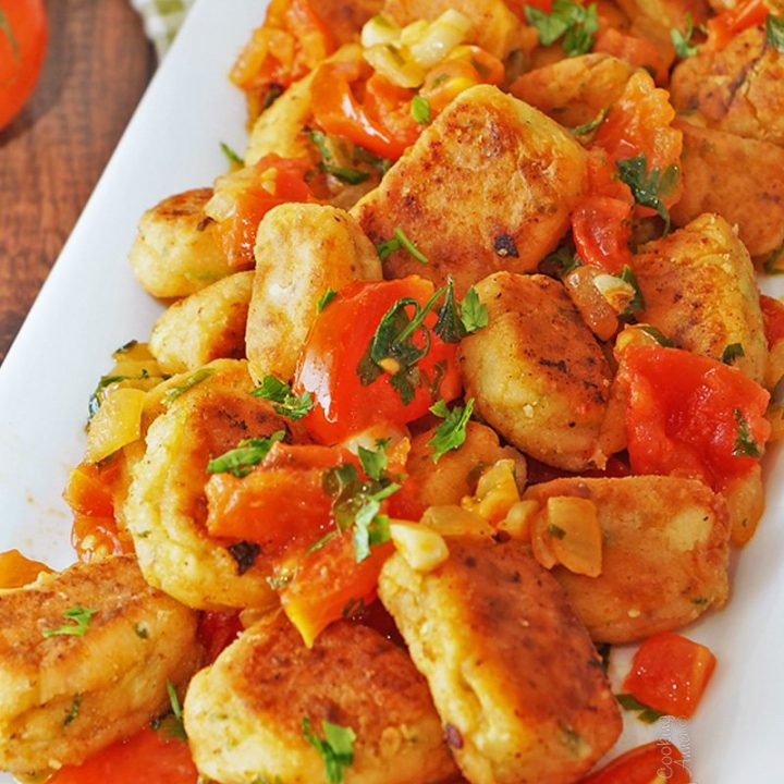 Salmon Zucchini Patties/Gnocchi