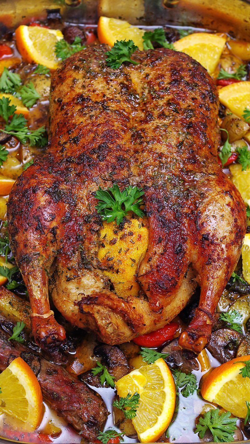 Christmas Roasted Duck