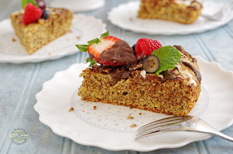 Orange Chocolate Almond Cake (Gluten Free)