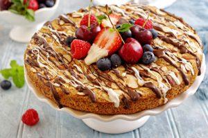Orange Chocolate Almond Cake