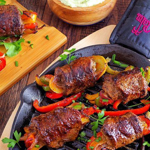 Low-Carb Steak Fajita Roll-Ups Pin