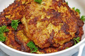 Pork Schnitzels (Cutlet, Bitki, Bitochki) Dinner