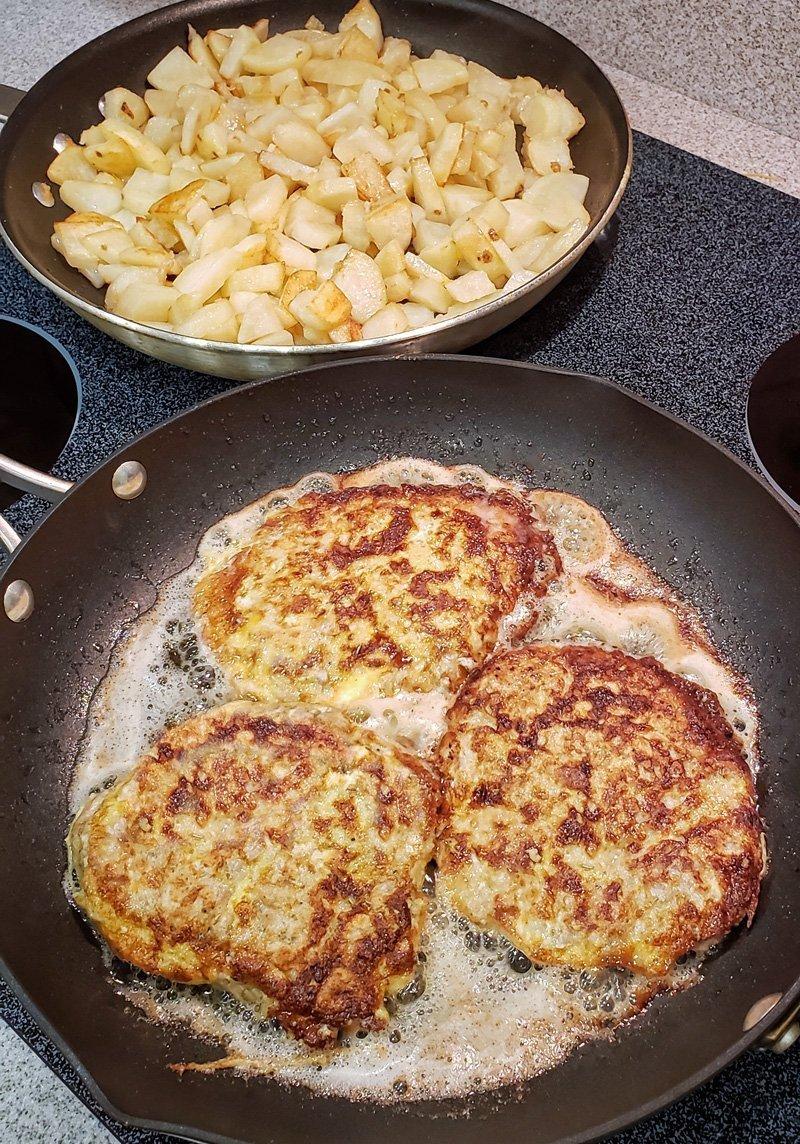 Pork Schnitzels (CUTLET,Bitki,Bitochki) Dinner